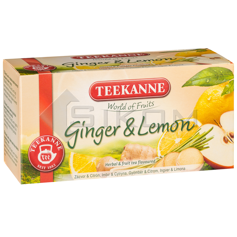TEEKANNE Ginger & Lemon 20 x 1,75 g